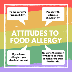comments about food allergy