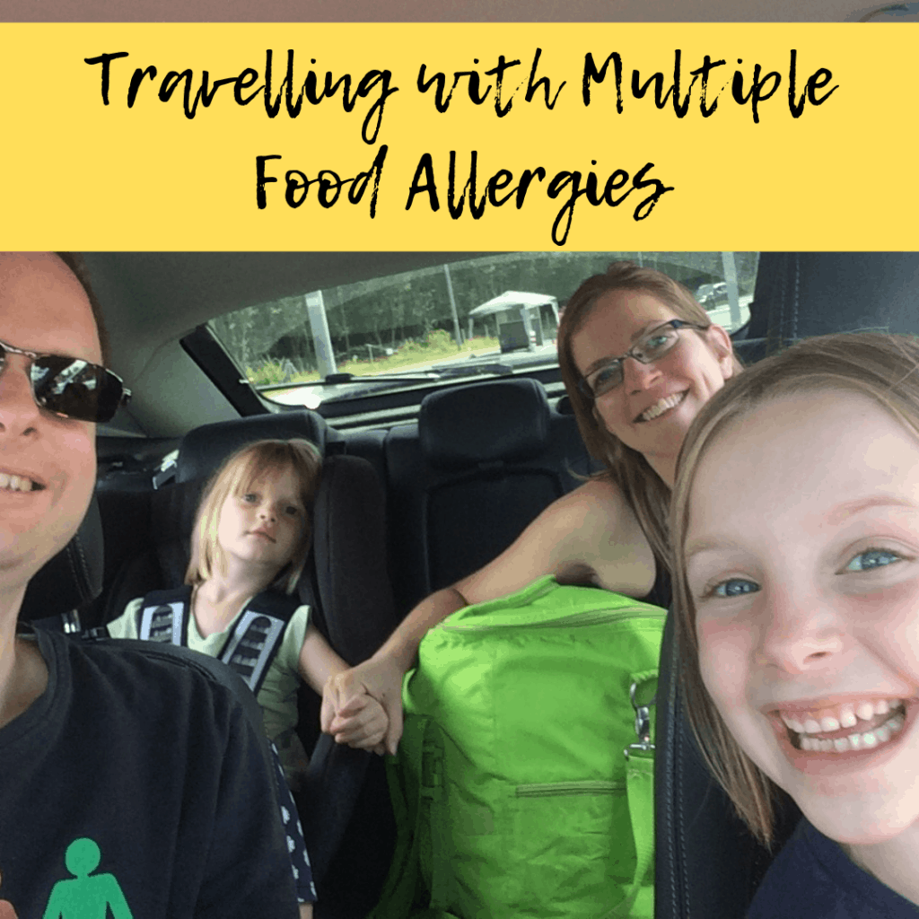 travelling with multiple food allergies