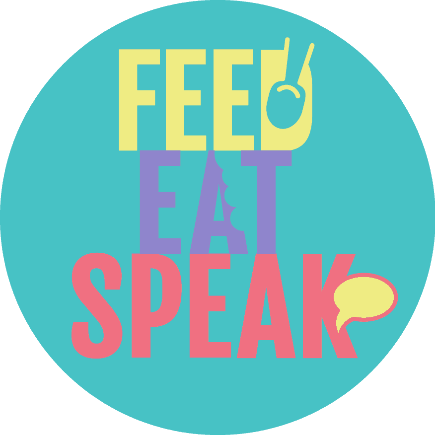 feed eat speak