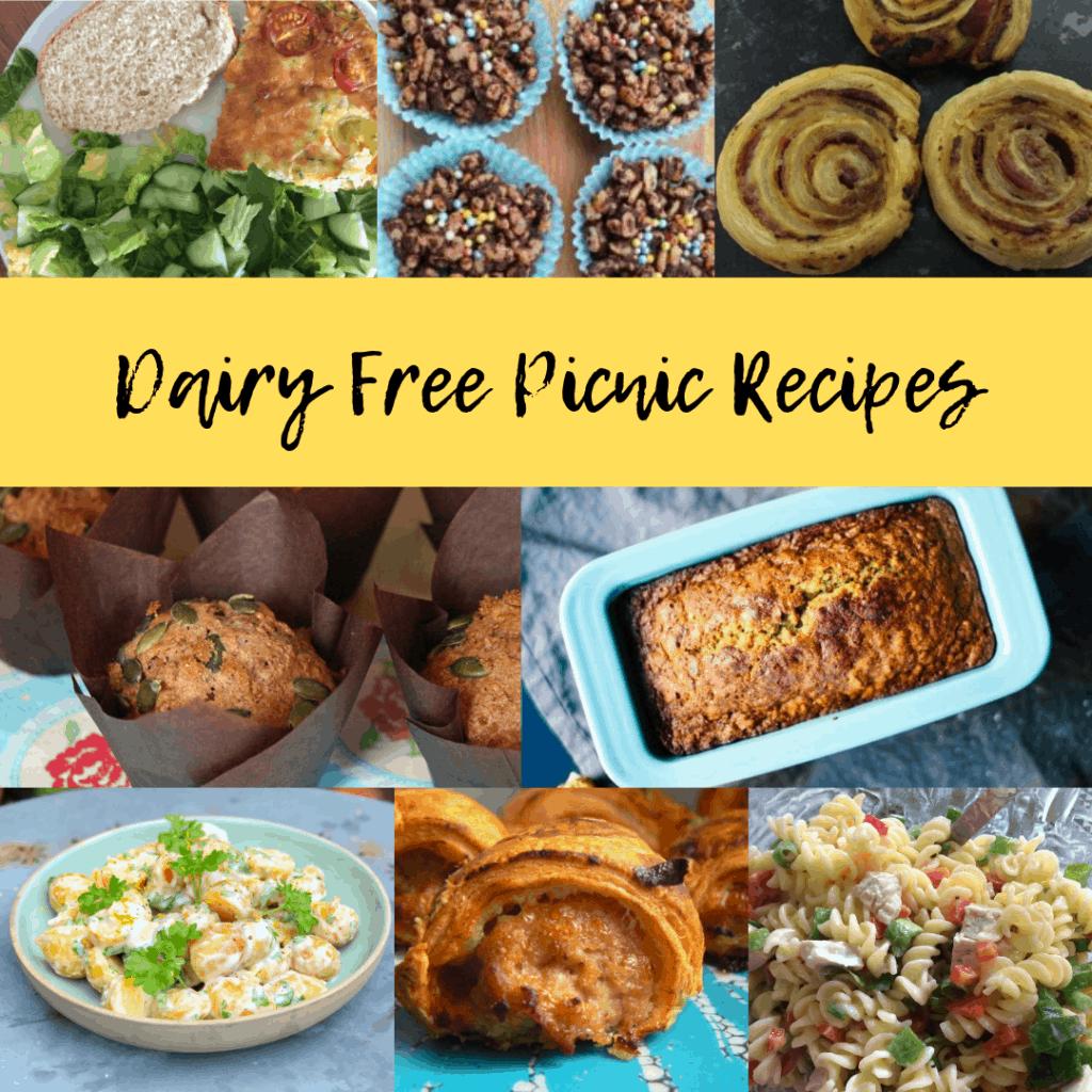 dairy free picnic recipes