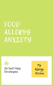 self help strategies for food allergy anxiety