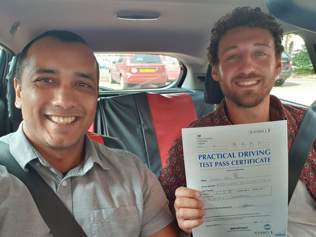 Loughborough driving lesson