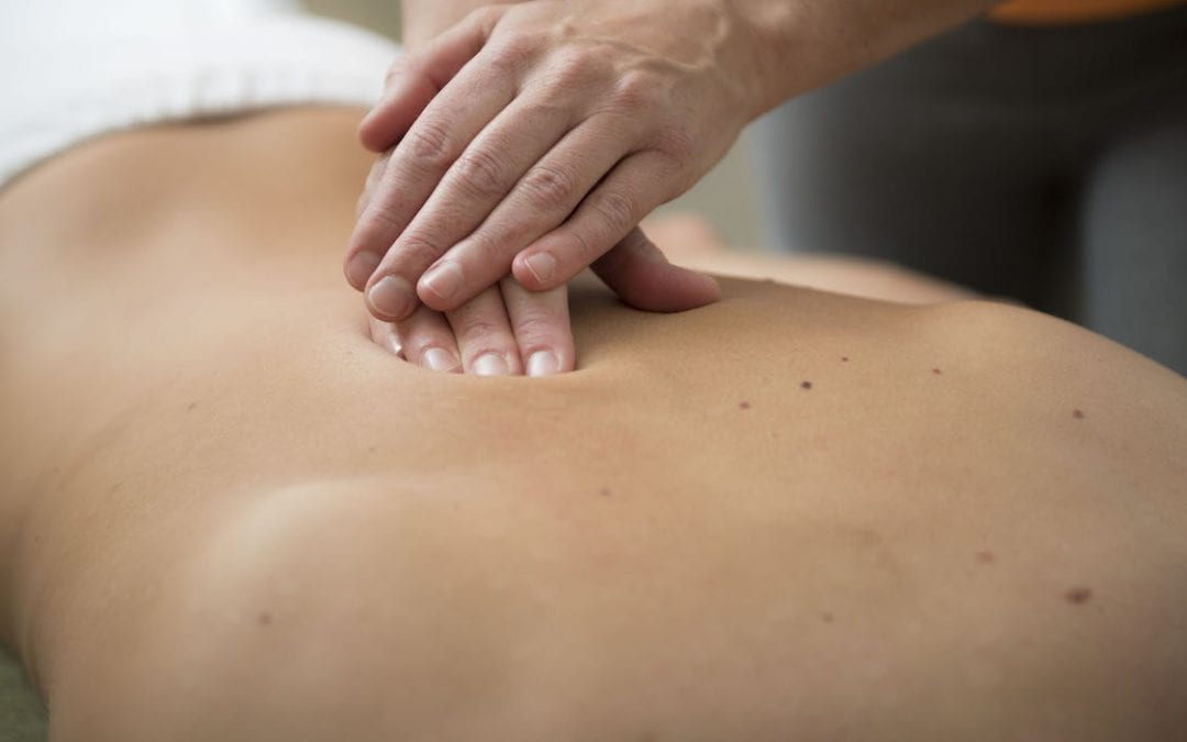 Massage skapar läkning