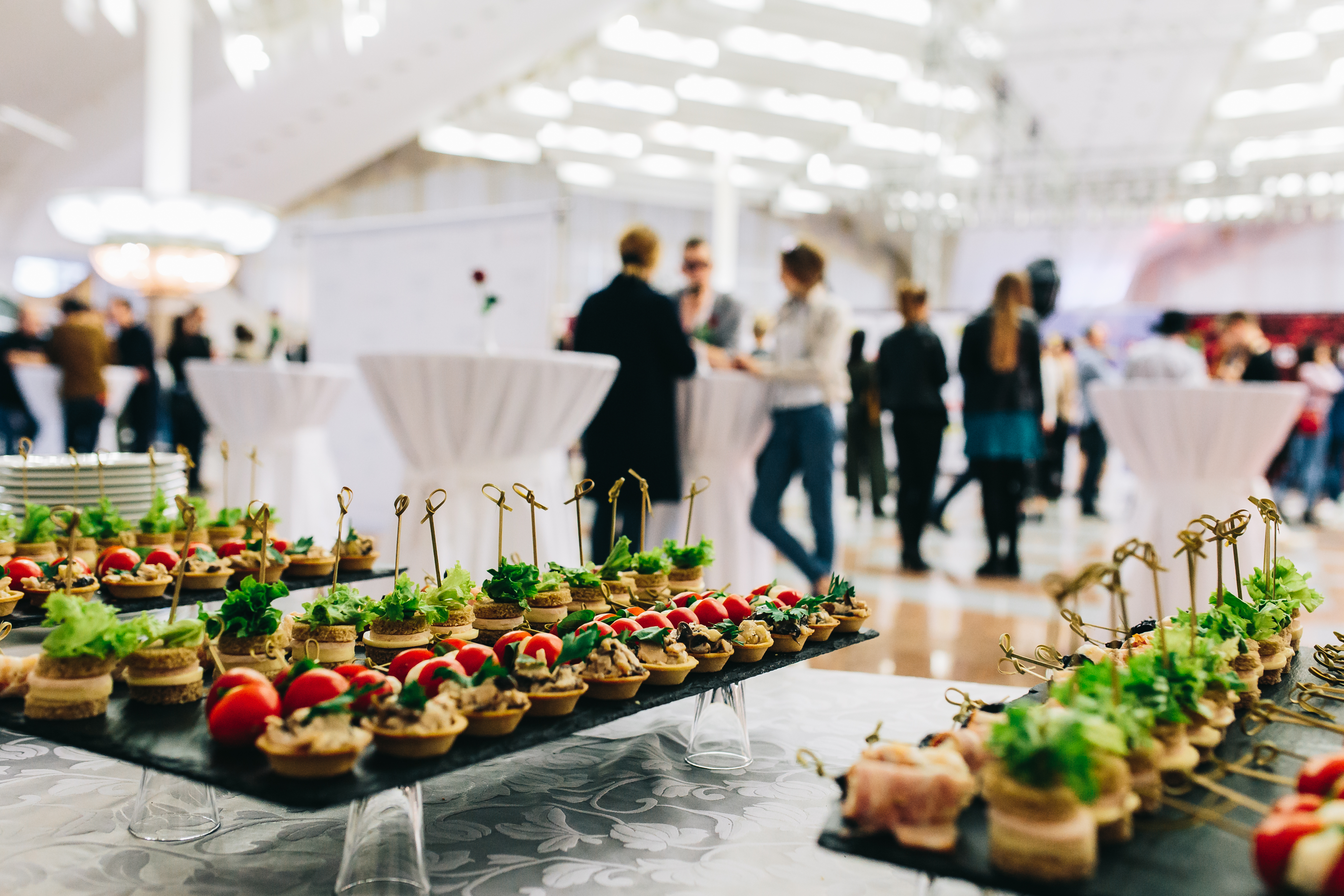 canapes at event