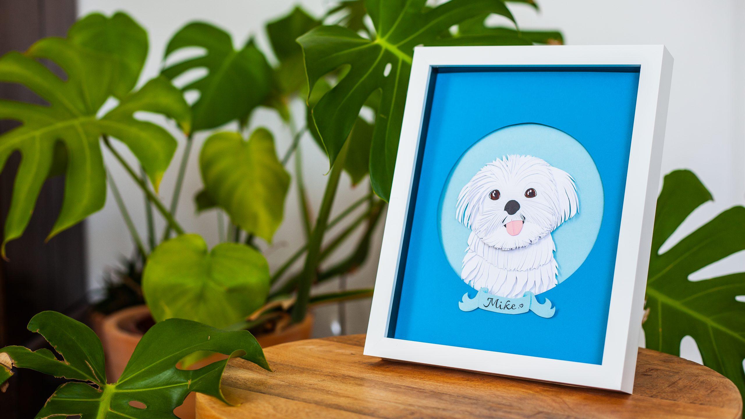 custom pet portraits decoration