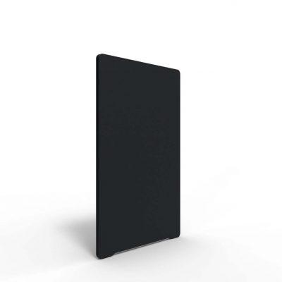 gulvskærme med lydabsorberende materiale