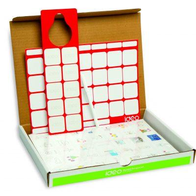 pakke med dagligdags piktogrammer