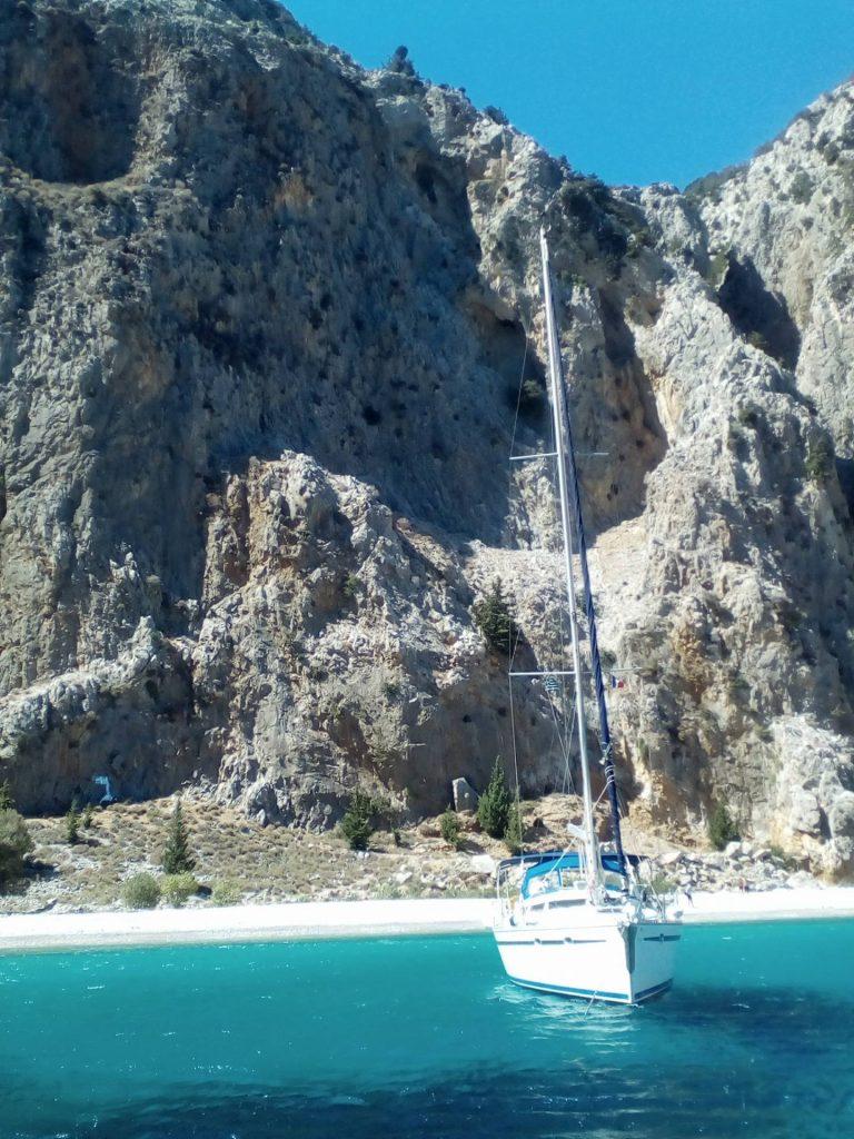Symi sailing