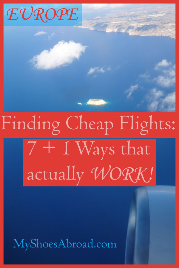 how to find cheap flights for Europe
