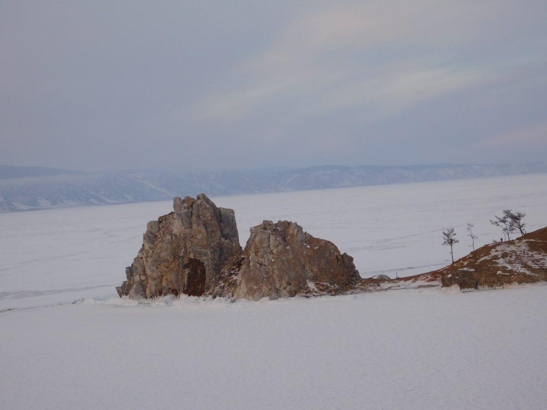Shaman's Rock Olkhon island