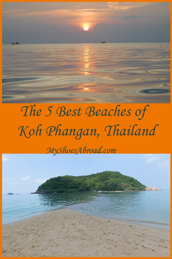 5 + 1 Best BEaches of Phangan island, Thailand