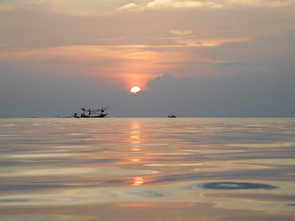 sunset spots Thailand