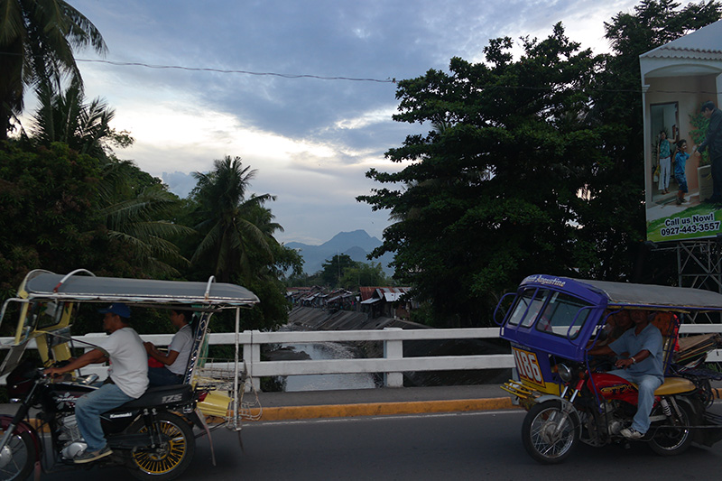 Dumaguete tricycles