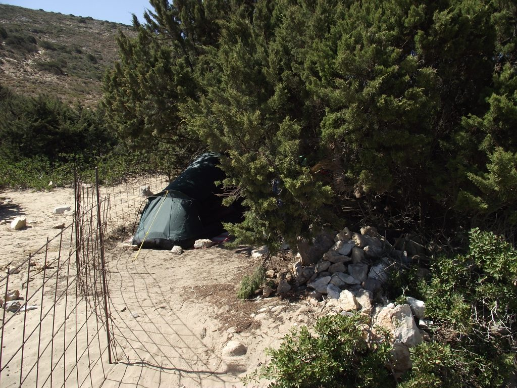 irakleia camping