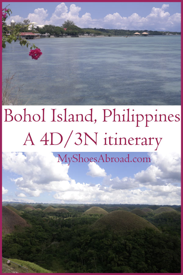 A 4D/3N Itinerary for Bohol island in the Philippines