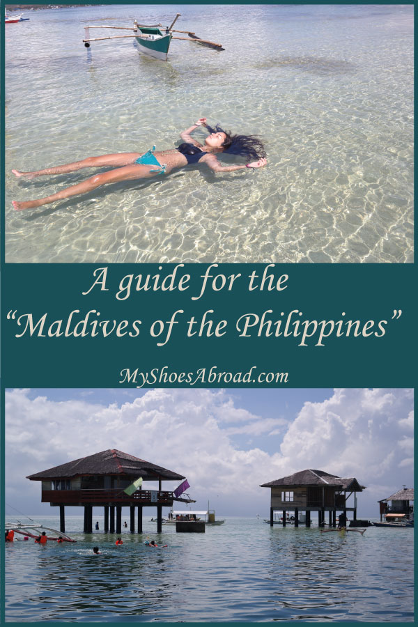 A guide for a sandbar in the Philippines that is described as the Maldives of the Philippines!
