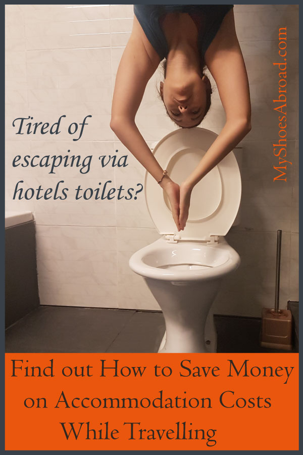 Find out 5 ways to save money on accommodation while travelling!