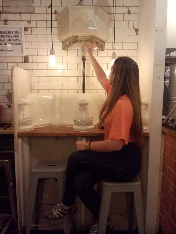 toilet cafe London