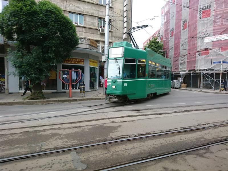 tram Sofia Bulgaria