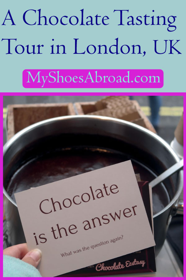 best chocolate tour in London
