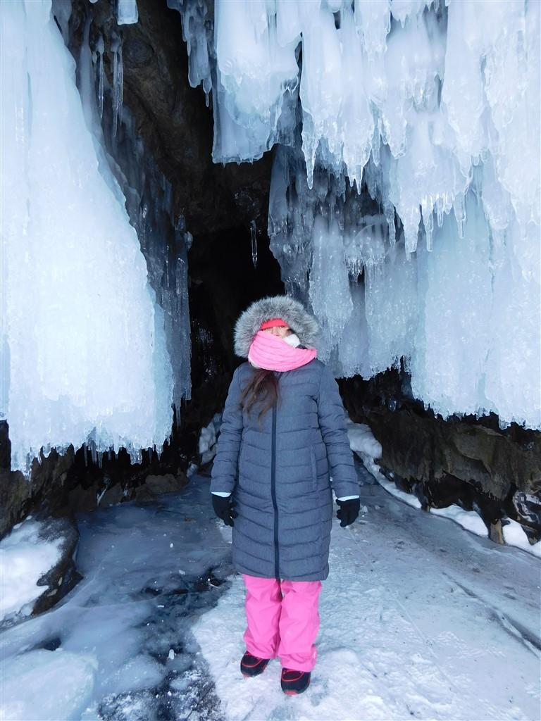 lake baikal stalactite