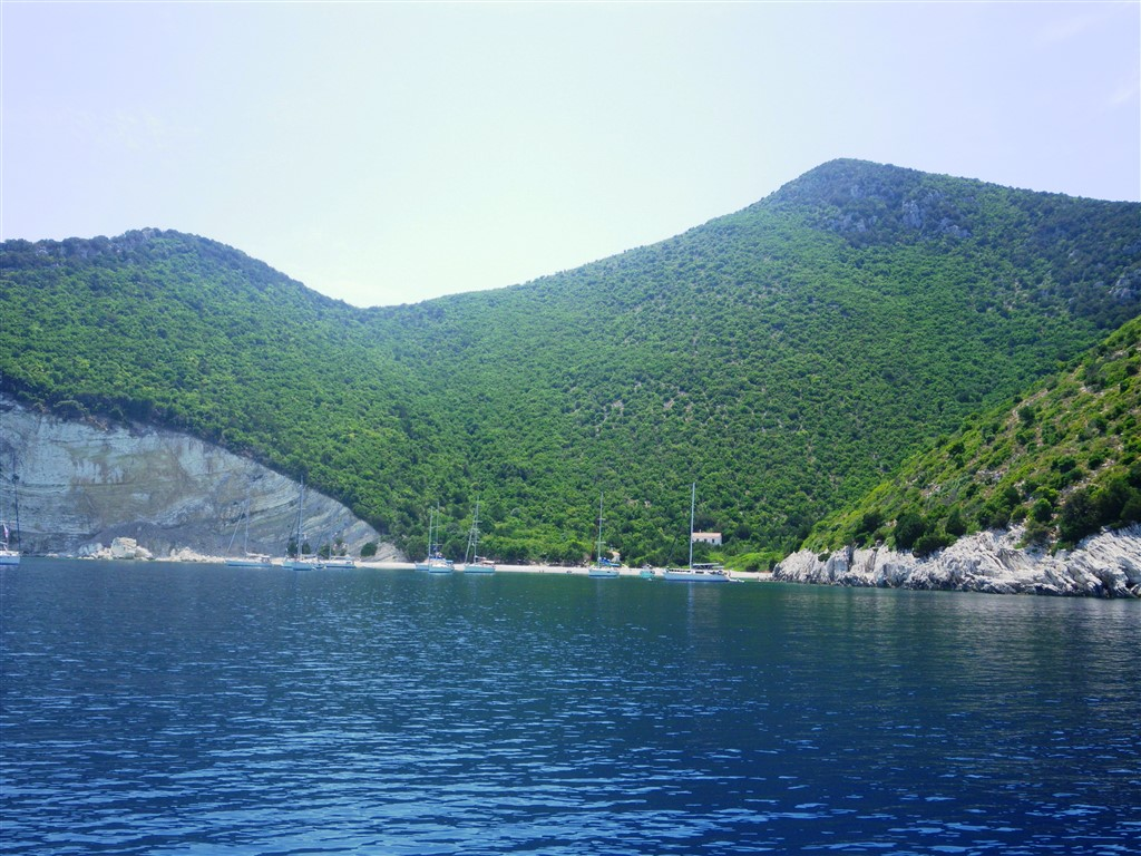 sailing lefkada greece