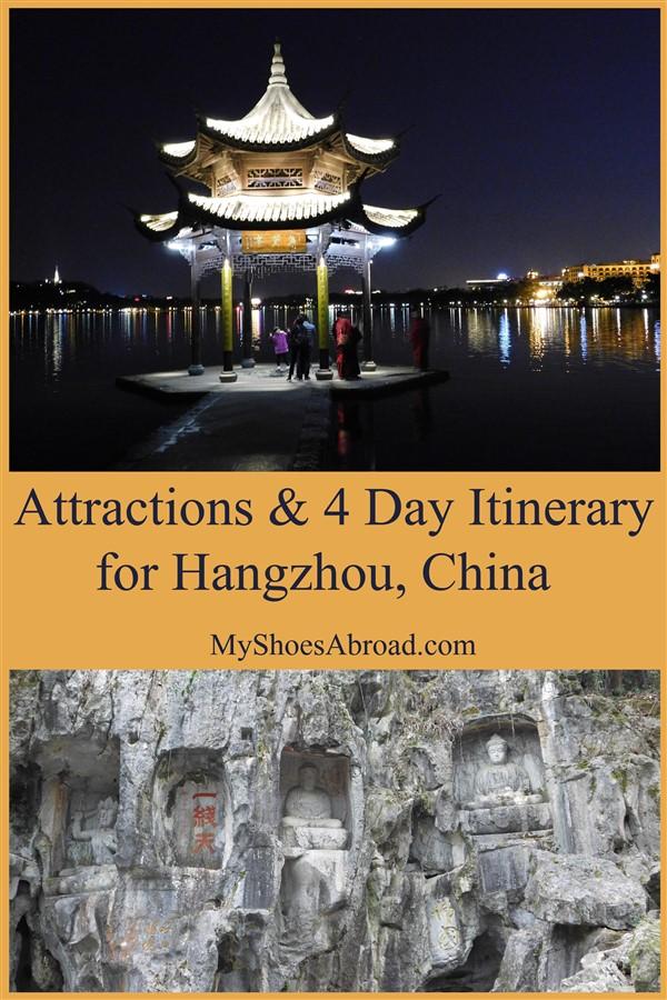 Itinerary for Hangzhou China