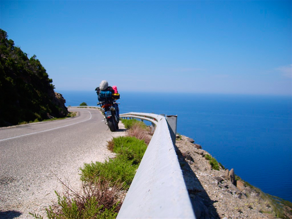 motorbike tourism greece