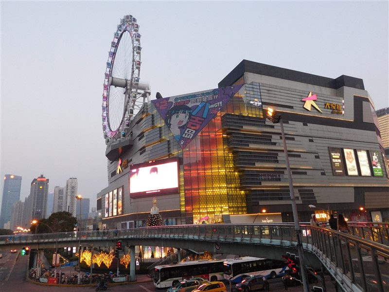 shopping malls Shanghai