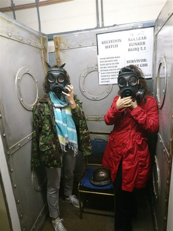 nuclear bunker masks