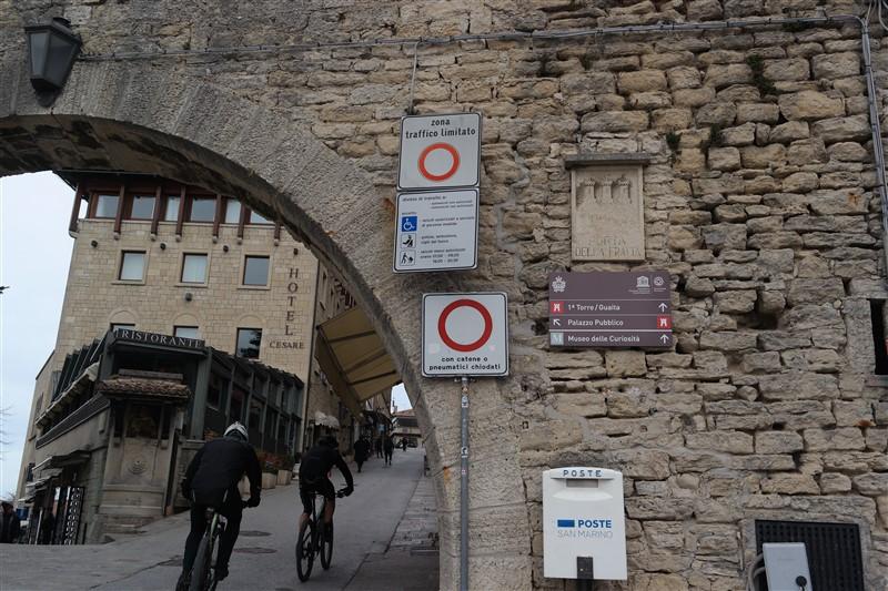 San Marino towers parking