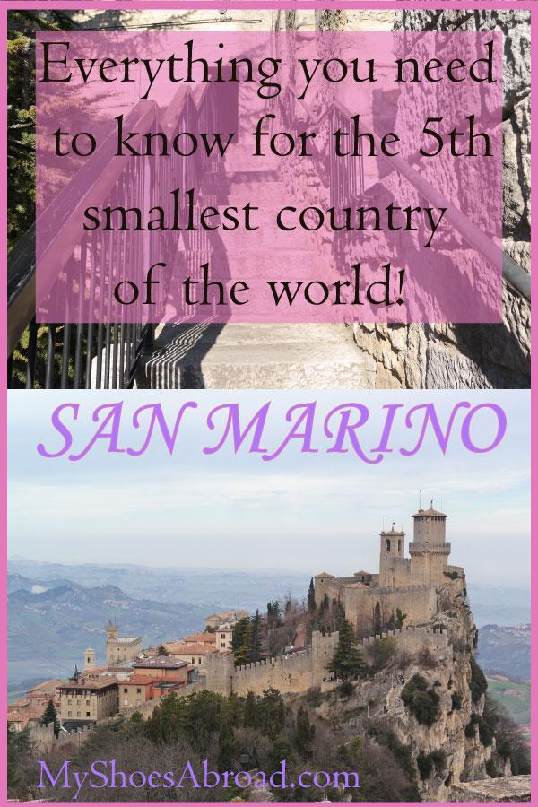 San Marino itinerary