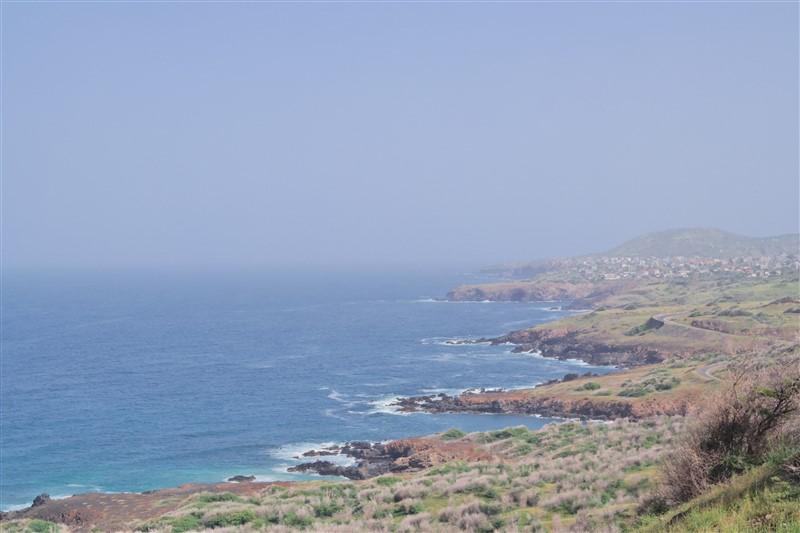 santiago island coastline