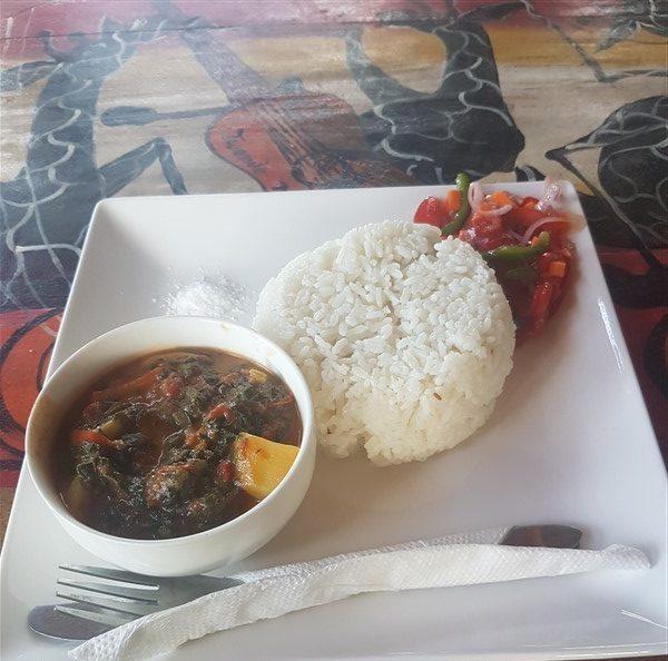 vegan traveling Tanzania