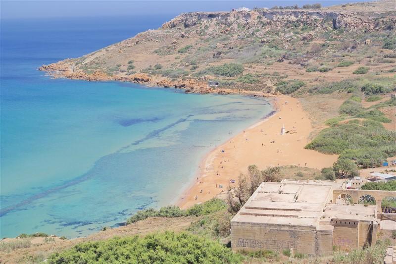best beach in gozo