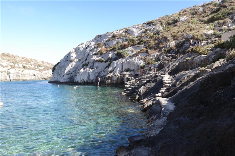 Gozo coastal line