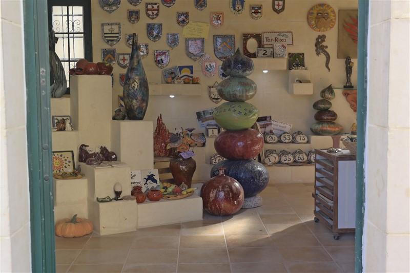 Ceramics froom Gozo