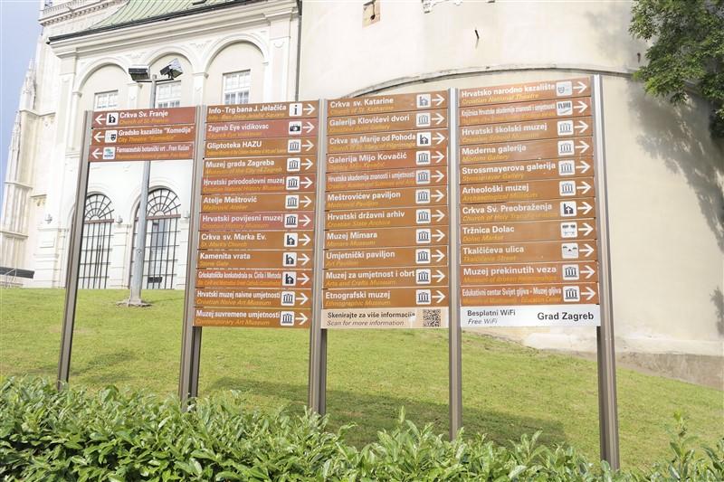points of interest Zagreb