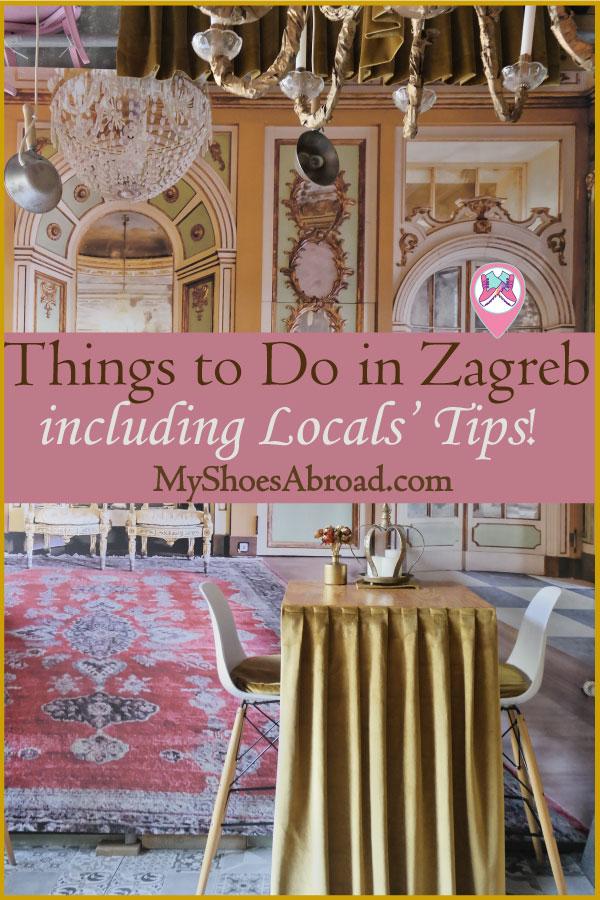 Zagreb itinerary