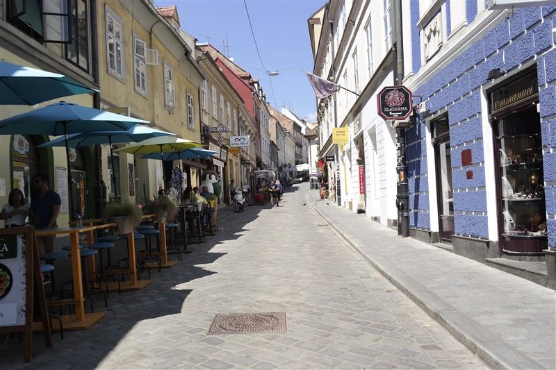 Zagreb souvenirs street