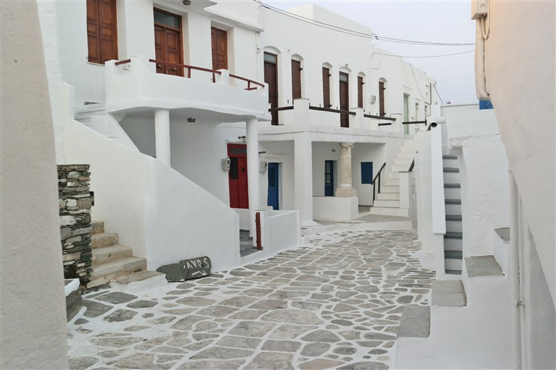 Cyclades houses