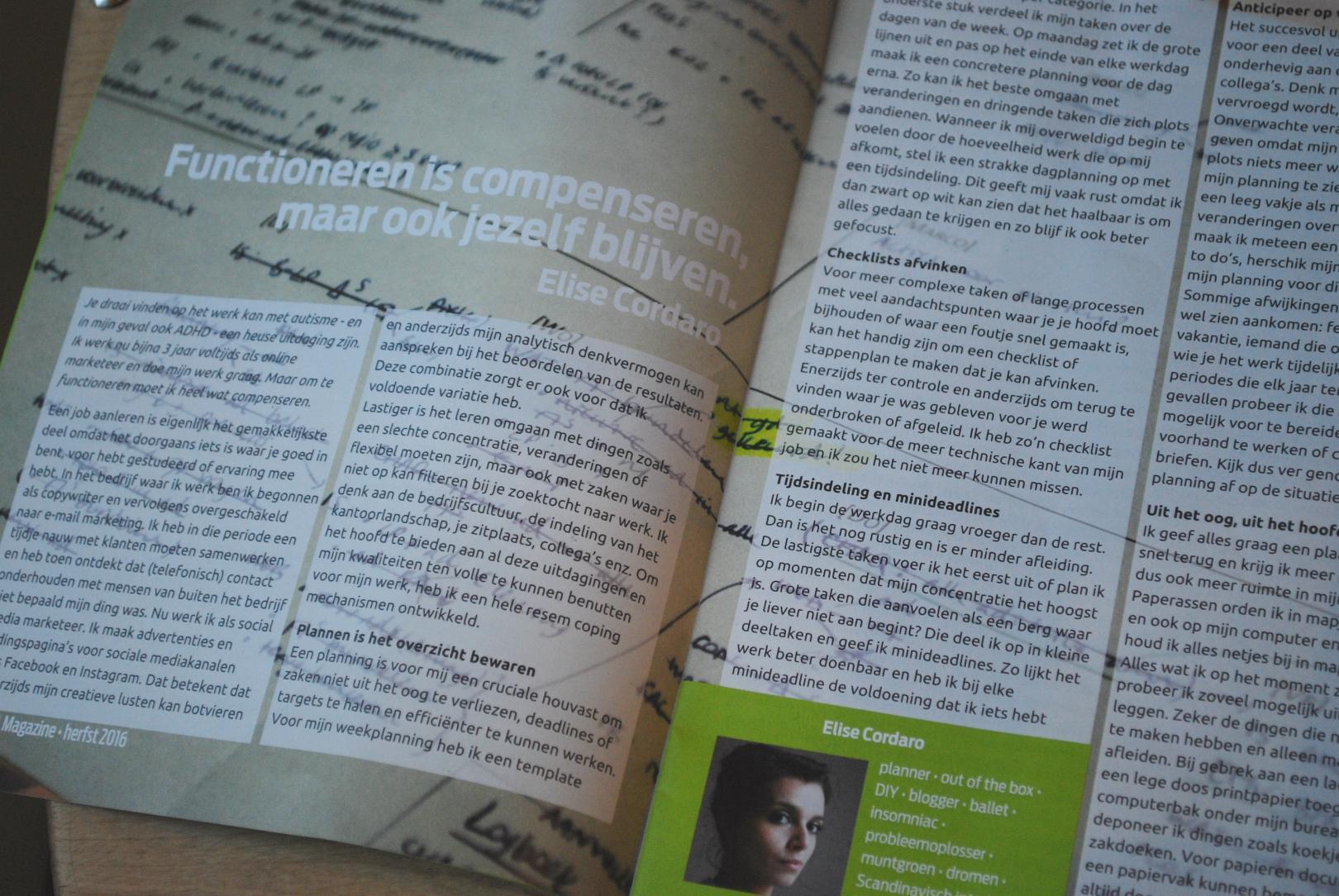Artikel VVA-magazine