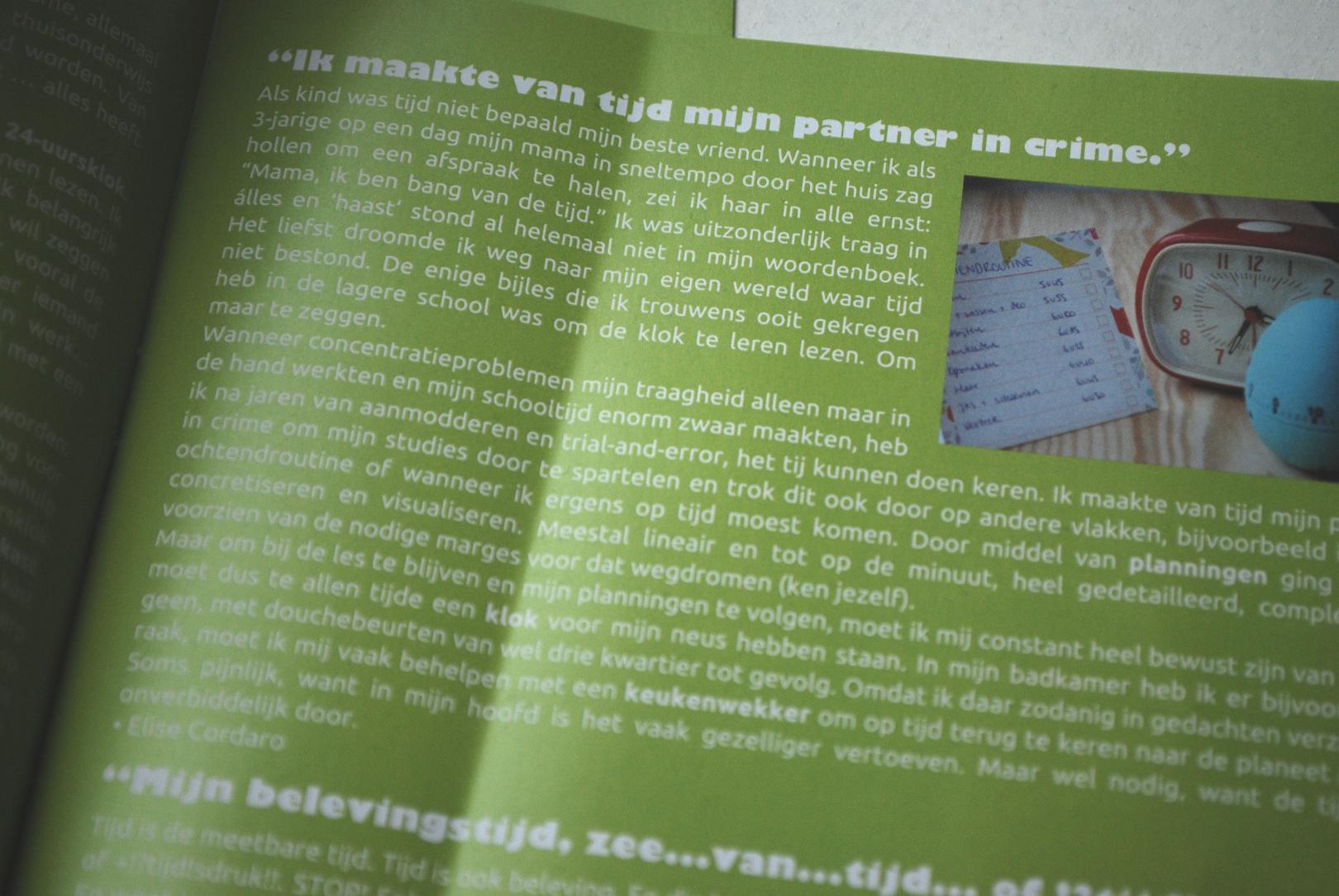 Tijd - VVA-magazine