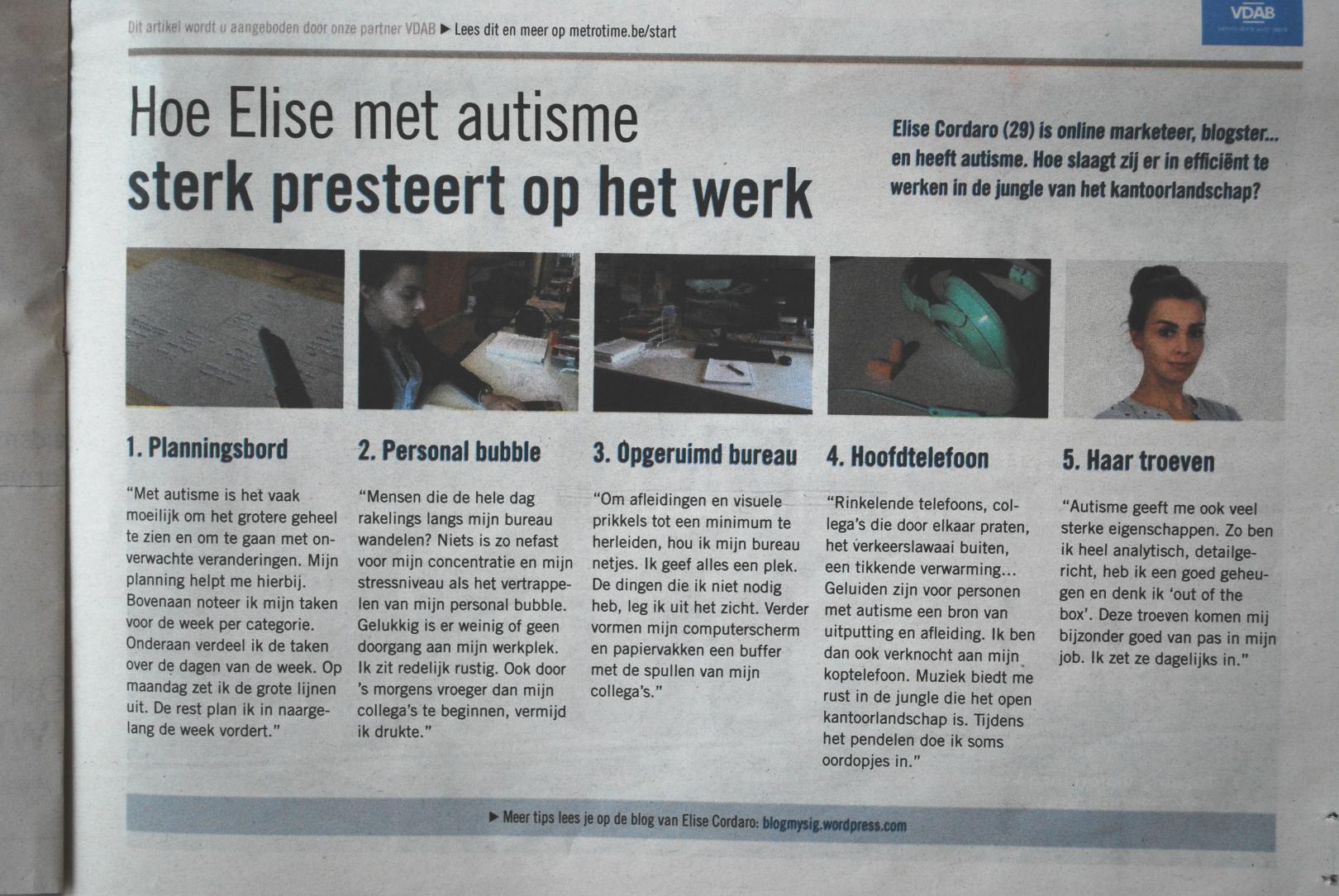 Artikel Metro België