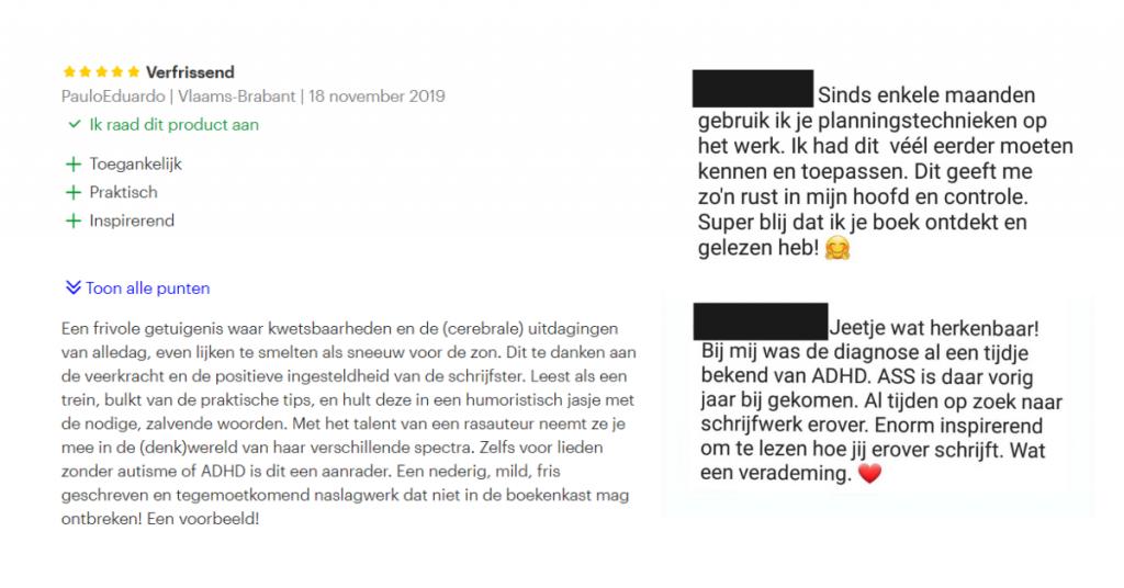 Reviews - Anders gaat ook - Elise Cordaro