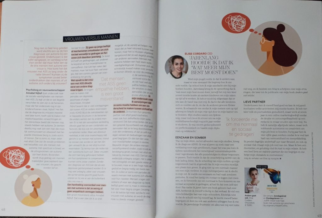 Interview autisme vrouwen - Goed Gevoel