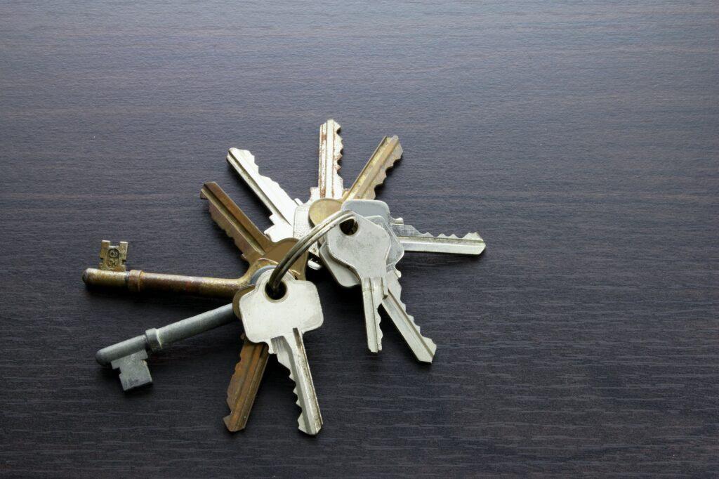 Tabt nøgler i kloak