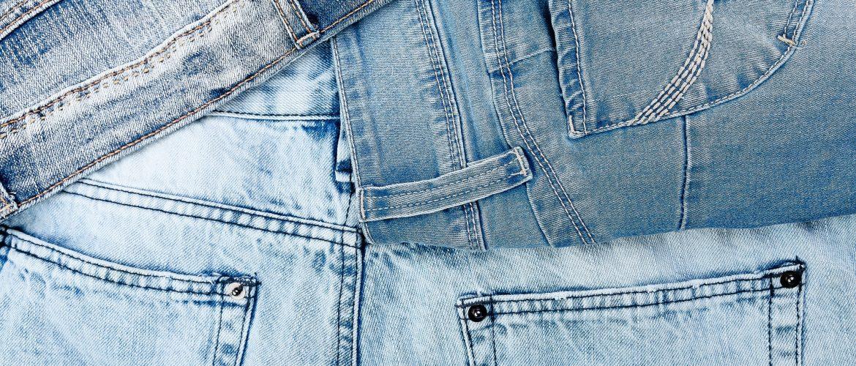 Jean background. Denim blue jean texture.