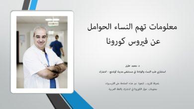 Photo of لقاء من د. محمد خليل حول تأثير الكورونا على الحوامل