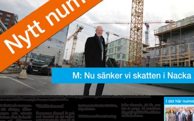 Nytt nummer av Nackabladet ute